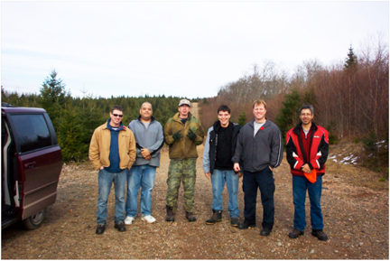 UINR forestry tour