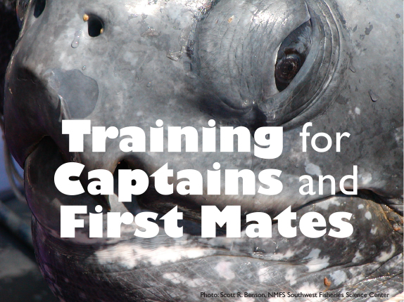 Training for CAPTAINS and FIRST MATES