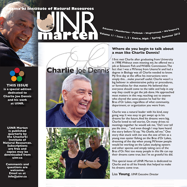 UINR Marten – Special Edition – Summer 2015