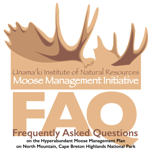 Questions on Mi'kmaq Moose Harvest in Cape Breton Highlands National Park