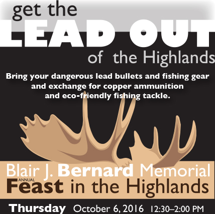 Get the LEAD OUT of the Highlands