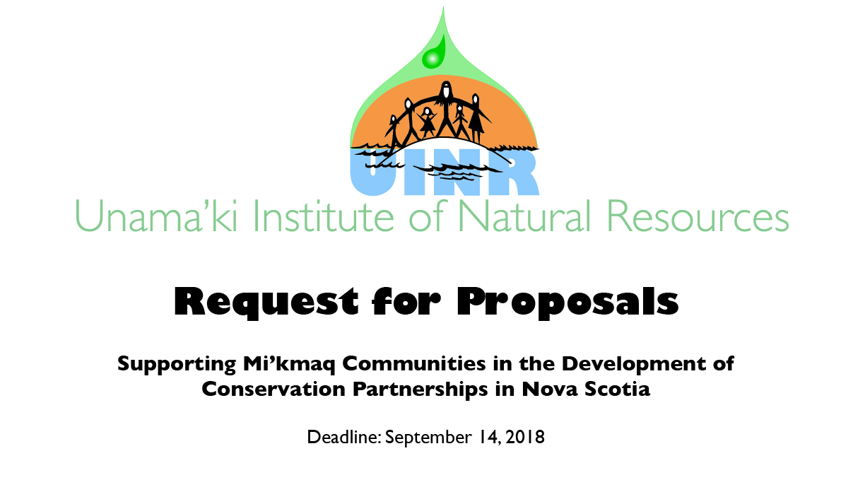 Request for Proposal – Conservation Partnerships